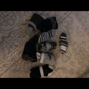 Set of 8 kids 2T-3T Dress Socks